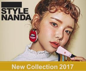 スタイルナンダ 日本 場所:原宿に旗艦店 ピンクを基調とした店内